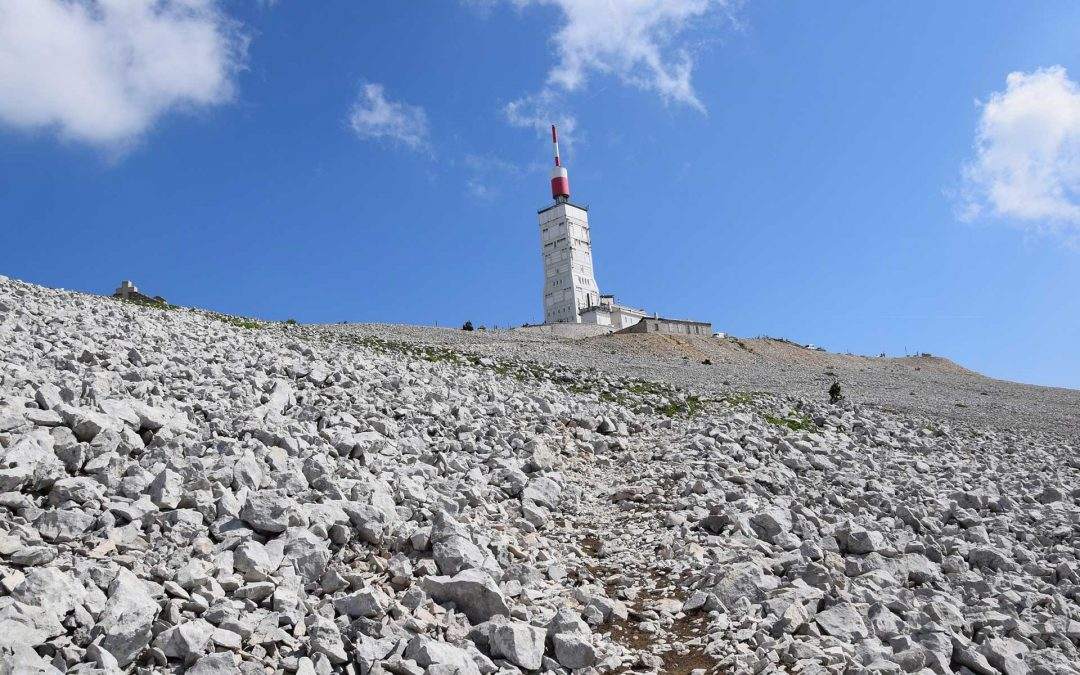 Cycling on Mt Ventoux