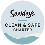 Sawdays Clean and Safe Badge